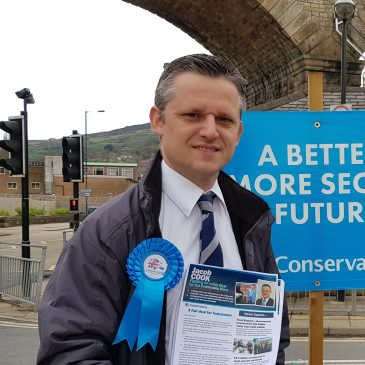 Jacob Cook is your Candidate for Greetland & Stainland
